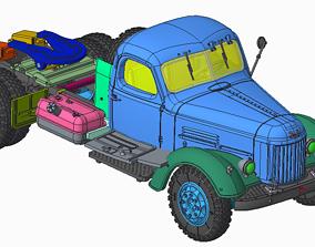 3D printable model ZIL-164