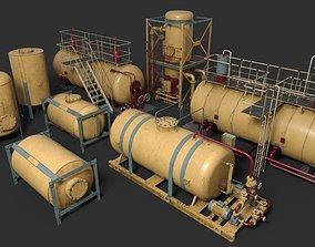 3D Liquid storage pack