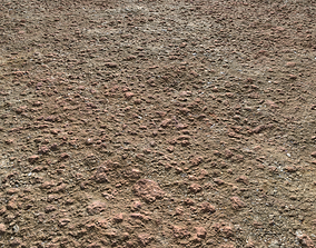 Rough Red Terrain Seamless PBR 3D model