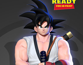 3D print model Samurai Goku