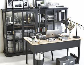 Office workplace 43 3D