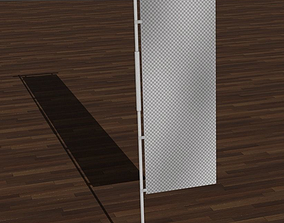 3D model Nobori Flag