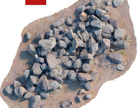 159 Stone 3D asset