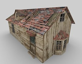 3D model Old Abandoned Cottage