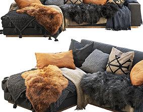 3D Roveconcepts Noah Sectional Sofa