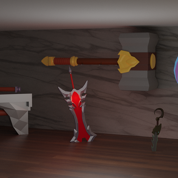 League of Legend's Weapons