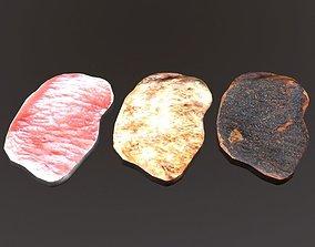 Porkchop 3D asset