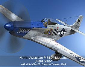 North American P-51D Mustang - Petie 2nd 3D