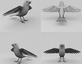 3D asset Bird base