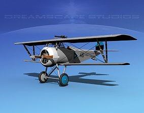 3D model Nieuport 17 Estonia