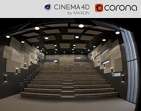Arts Theatre Auditorium 3D