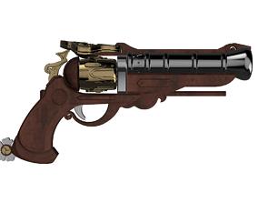 McCree Magistrate gun replica 3D print model