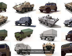 Military Vehicles Collection 3D