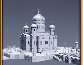 3D model Cathedral of Christ the Saviour