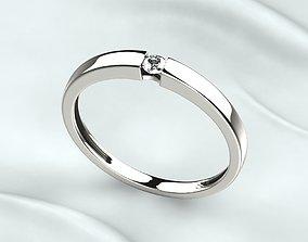 3D print model Wedding Fashion Ring