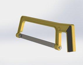 Hacksaw 3D model