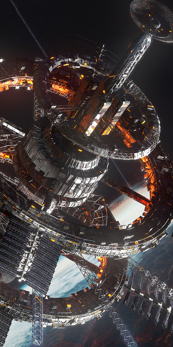 Sci Fi Space Station