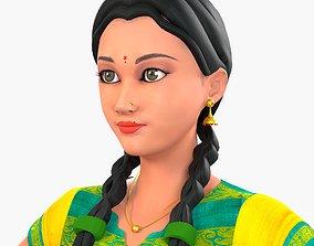 Indian Girl-Anita 3D