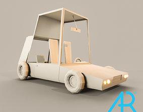 3D model realtime old car