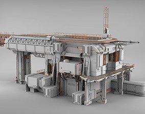 3D sci-fi architecture 8