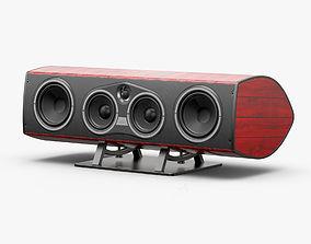 Sonus Faber Vox Tradition Red 3D model