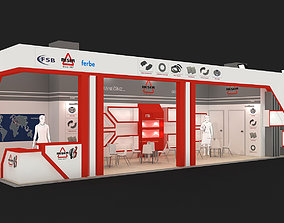 3D Exhibition Stand - ST0031