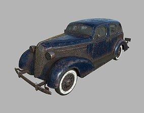 Abandoned Car 20 3D