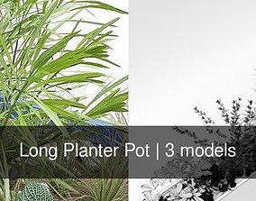 3D model Long Planter Pot