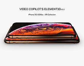 Element3D - iPhone XS - XS Max - XR Collection