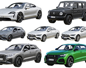 3D model HQ cars collection 4