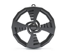 Futuristic Special Design Pendant 3D Printing Model
