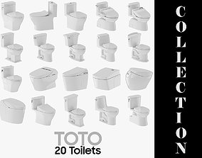 20 Models TOTO Toilet Collection