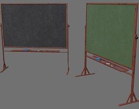 3D asset Chalkboard 1A