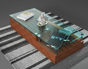 3D model game-ready Center Table