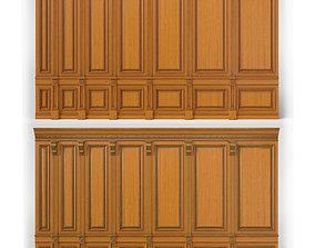 wooden panel 02 06 3D
