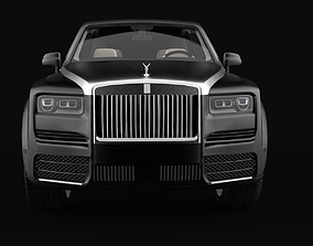 Rolls Royce Cullinan Mansory LoPoly 3D asset realtime