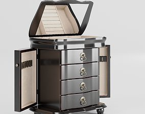 Cabinet-drawers for jewelry 3D