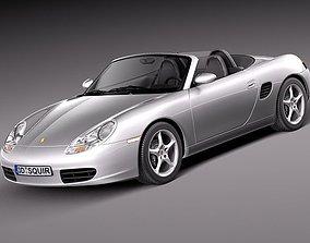 Porsche Boxster S 1996-2004 3D
