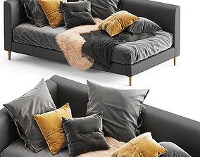 3D model Corner Timo Upholstered Bed daybed