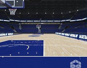 dunk 3D model Basketball Arena