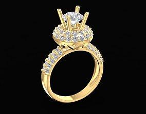 3D print model 1695 Diamond ring