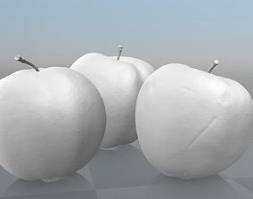 3D interactive Three Ligol Apples - scanned