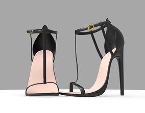 3D asset VR / AR ready Woman heels