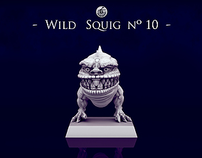 3D print model Wild Orc Squigs -n10 to n12- 28mm