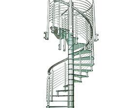 staircase sciria clarit 3D asset