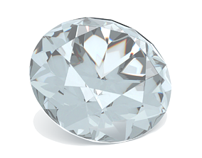Diamond Gem - Brilliant Cut 3D printable model