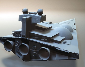 Star Wars Dominator star destroyer 3D printable model