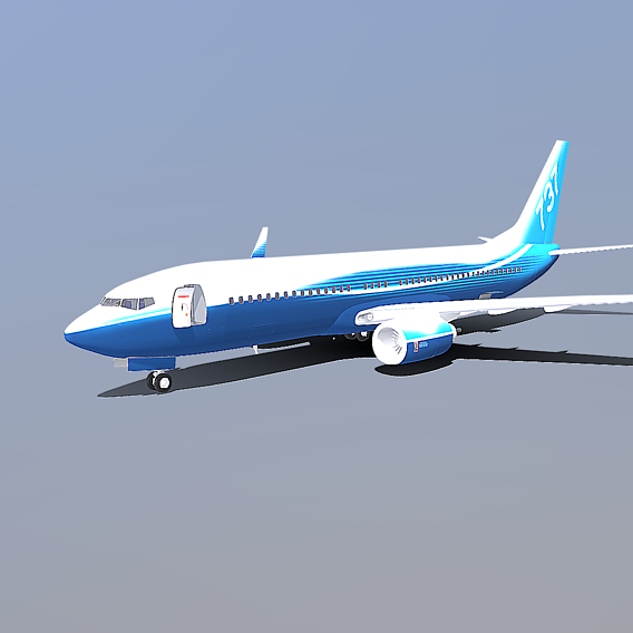 Now on sale Boeing 737-800 with interior.