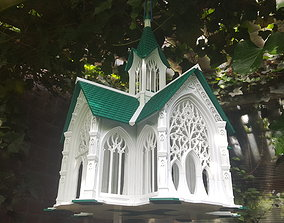 Bird House Cathedral style 3D print model