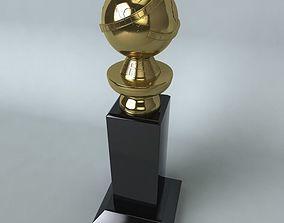 Golden Globe Award 3D
